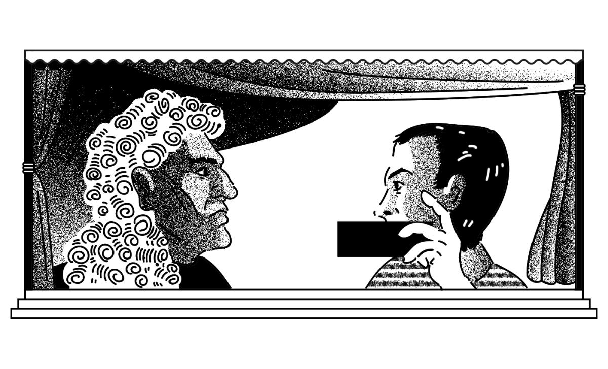 «Молчите. Хорошо». Заседание Советского районного суда Брянска в одномдействии