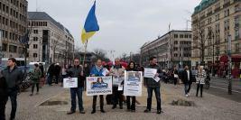 Всемирный день поддержки Дениса Бахолдина 10 марта 2018, Берлин