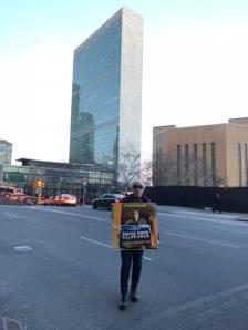 Всемирный день поддержки Дениса Бахолдина 10 марта 2018, Нью-Йорк
