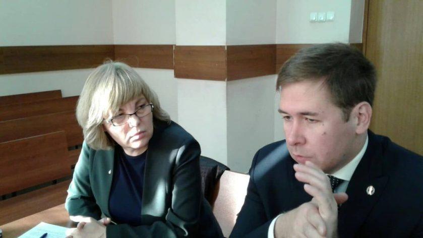 Светлана Сидоркина и Илья Новиков